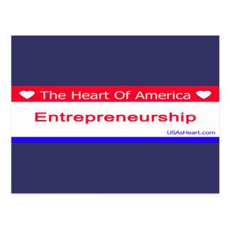 entreprenuership, entrepreneur, freedom, usa postcard