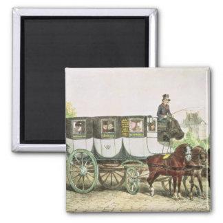 Entreprise Generale des Omnibus', 2 Inch Square Magnet