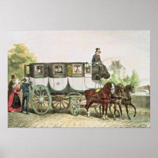 Entreprise Generale des Omnibus', Poster