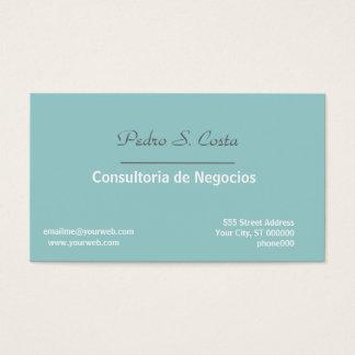 Entreprise Soft/Blue Consultant Rep Professional Business Card