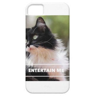 ¡Entreténgame! Caja divertida del teléfono celular iPhone 5 Carcasa