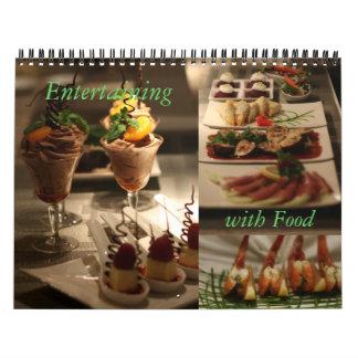 Entretenimiento con la comida calendarios