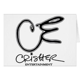 Entretenimiento de Crisher del CE Tarjeta De Felicitación