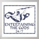 Entretenimiento de dioses posters