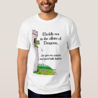 Entrométase no en los asuntos de dragones… camisas