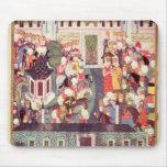 Entronización de Suleyman el magnífico Tapetes De Ratón