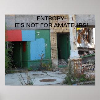entropía posters