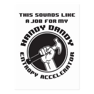 Entropy Accelerator Postcard