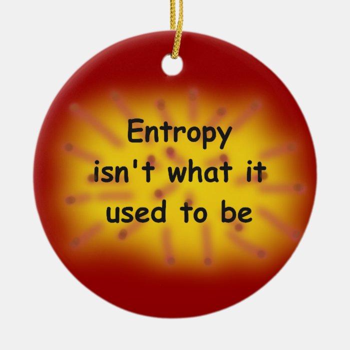Entropy Ceramic Ornament