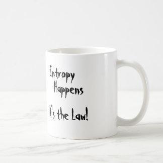 Entropy Happens Coffee Mugs