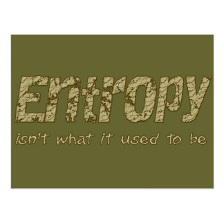 Entropy Postcard