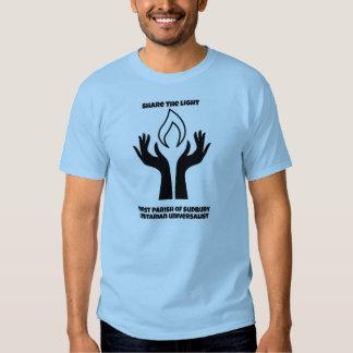 Entry 1 - Share the light B&W Tshirt