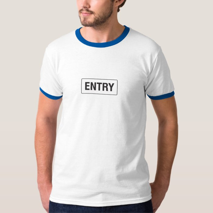 entry exit T-Shirt