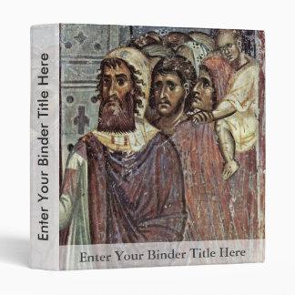 Entry Into Jerusalem, Detail By Meister Von Nerez Vinyl Binder