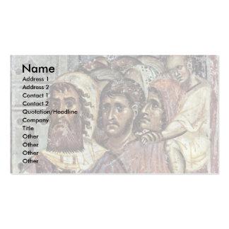 Entry Into Jerusalem, Detail By Meister Von Nerez Business Cards