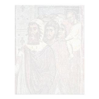 Entry Into Jerusalem, Detail By Meister Von Nerez Customized Letterhead