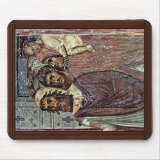 Entry Into Jerusalem, Detail By Meister Von Nerez Mouse Pad