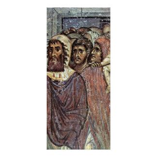 Entry Into Jerusalem, Detail By Meister Von Nerez Personalized Rack Card