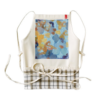 Entry into painting competition zazzle HEART apron