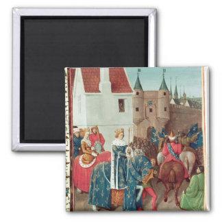 Entry into Paris of King Jean II  Le Bon Magnet