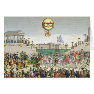 Entry into Paris of Louis XVIII  4th May 1814 Card