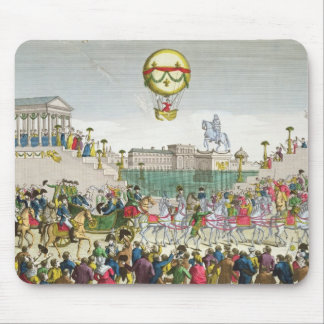 Entry into Paris of Louis XVIII  4th May 1814 Mouse Pad