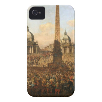 Entry into Rome of Jerzy Ossolinski, Emissary... iPhone 4 Cover