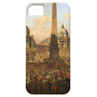 Entry into Rome of Jerzy Ossolinski, Emissary... iPhone SE/5/5s Case