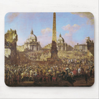 Entry into Rome of Jerzy Ossolinski Mouse Pad