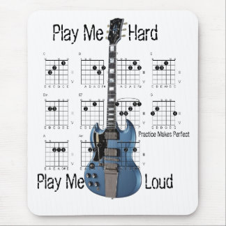 Entry-Level Guitarist Mouse Pad