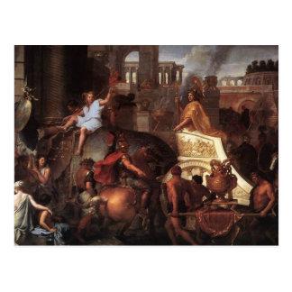 Entry Of Alexander Into Babylon Postcard
