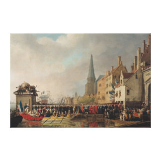 Entry of Bonaparte, as First Consul Canvas Print