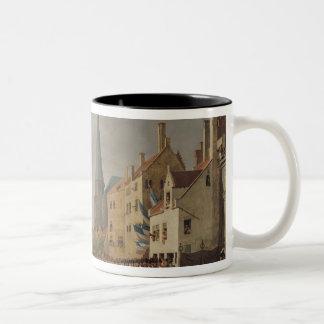 Entry of Bonaparte, as First Consul Two-Tone Coffee Mug