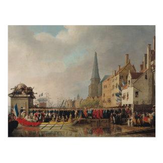 Entry of Bonaparte, as First Consul Postcard