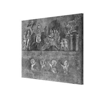 Entry of Jesus into Jerusalem Canvas Print