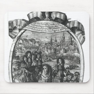 Entry of King Louis XIV  in Strasbourg Mouse Pad