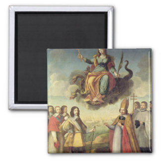 Entry of Louis XIII  King of France and Magnet