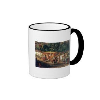 Entry of Louis XIV  and Maria Theresa  into Ringer Mug