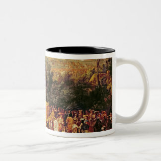 Entry of Louis XIV  and Marie-Therese of Two-Tone Coffee Mug