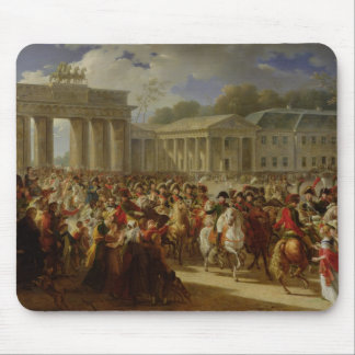 Entry of Napoleon I  into Berlin Mouse Pad