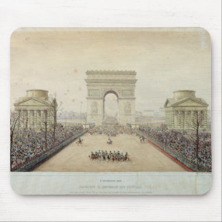Entry of Napoleon III into Paris Mouse Pad