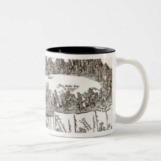 Entry of Prince Charles I into Madrid, 1623 Two-Tone Coffee Mug