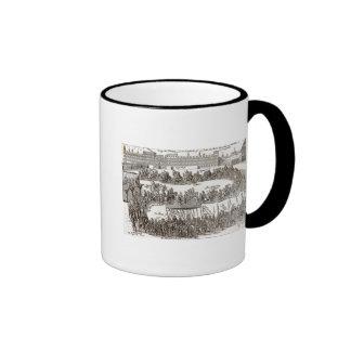 Entry of Prince Charles I into Madrid, 1623 Ringer Coffee Mug