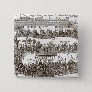 Entry of Prince Charles I into Madrid, 1623 Pinback Button