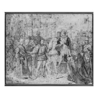 Entry of the Dauphin, the future Charles V Poster