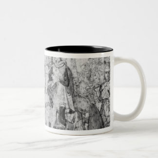 Entry of the Dauphin, the future Charles V Two-Tone Coffee Mug