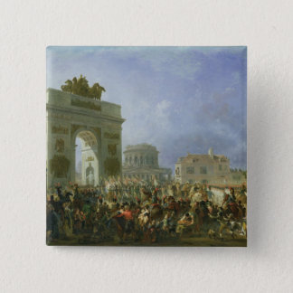 Entry of the Imperial Guard into Paris Button