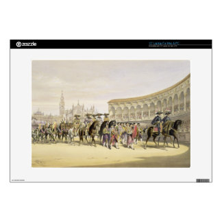 Entry of the Toreros in Procession, 1865 (colour l Decal For Laptop