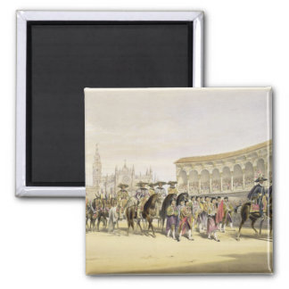 Entry of the Toreros in Procession, 1865 (colour l Magnet