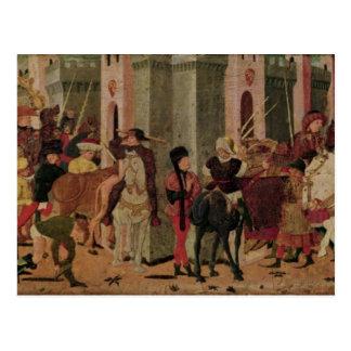 Entry of Titus Flavius Vespasian Postcard
